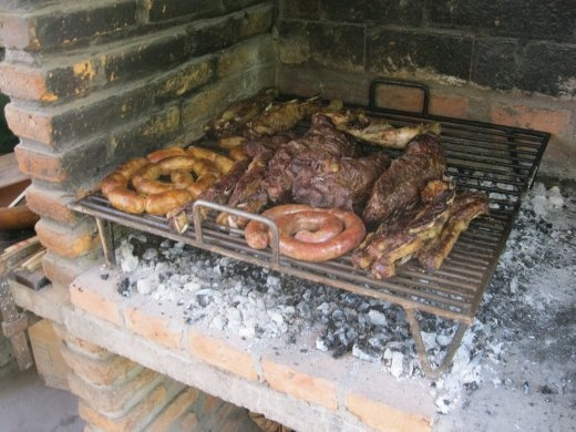 Afterwards, they fed us a huge asado and all the Argentinian wine we could drink