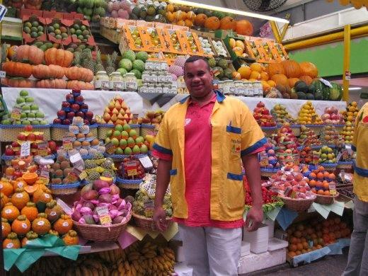 Sao Paulo's Municipal Market. A foodies dream place.