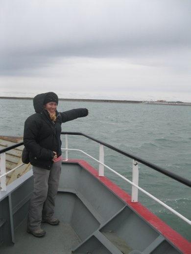 Land ho! Onwards to Tierra del Fuego