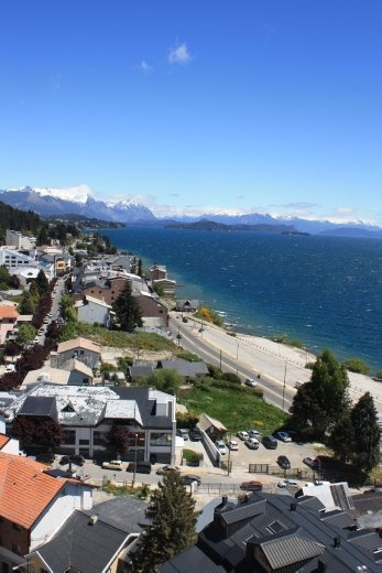 Bariloche, after being covered with ash. Not bad, hey?