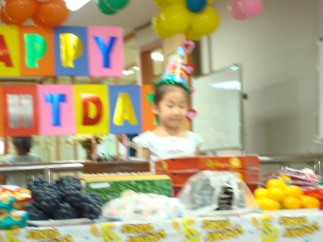 Awwww, cute little Sally!  One of the smartest kids in my older kindergartener class...and so sweet!