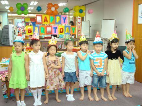 All the birthday kids...AGAIN.