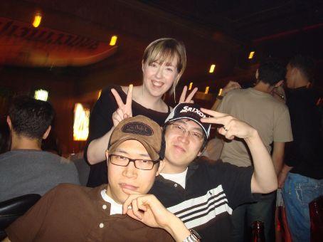 Chun, Priscilla, and Lion
