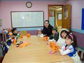 My kindie students and Cassie, their Korean teacher.: by ellen, Views[232]