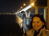 Me on the Han River with Namsan Tower in the background.: by ellen, Views[424]