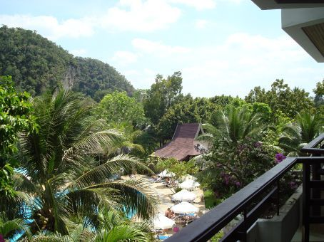 Another view from our hotel room.  I doubt it's possible to take a bad landscape picture in Thailand!