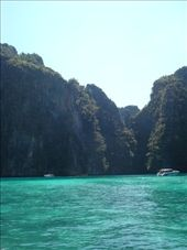 Phi Phi Lay Island. They shot a scene from the movie