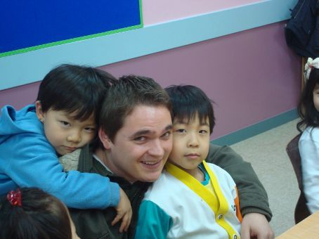 Monday was James' last day.  We were all soo sad!  