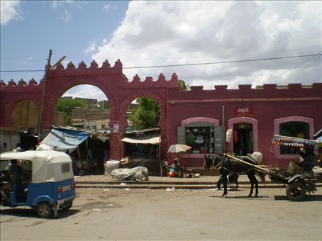 Dire Dawa again - a favourite of  mine with great buildings and lots of trees