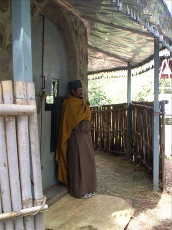 Monastary priest