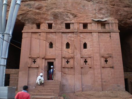 When is a rock church not a rock church? When it's a cave church.