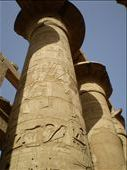 40m high pillars at Karnak Temple, Luxor: by ellij, Views[195]