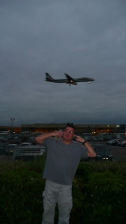 The London Hotel was nice and close to the Airport