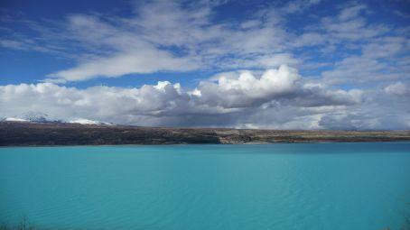 Rock flour Blue, Lake Pukaki