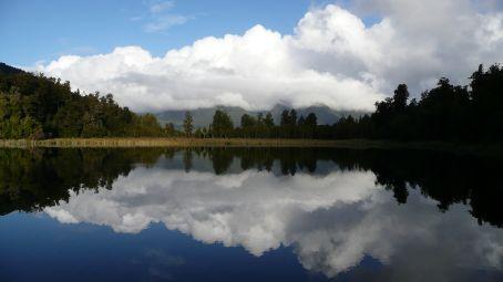 Reflection in Lake Matheson