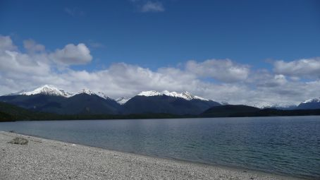 Lake Manapouri, voted best Lake in NZ by Lonely Planet.