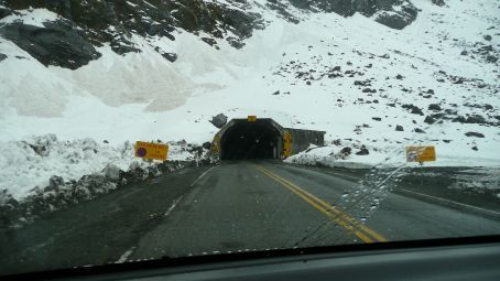 The start of the 'Homer' tunnel
