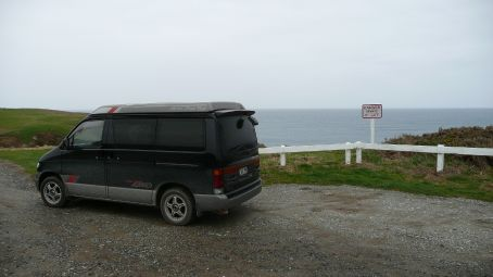 The Bug at Slope point
