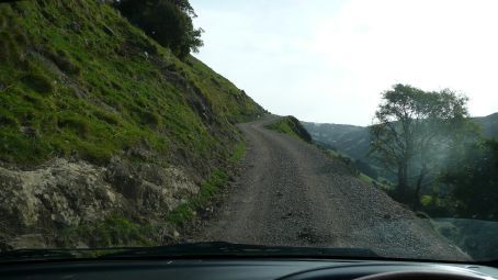 Not a good road, not a road at all!