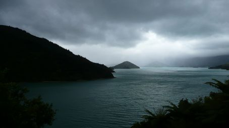 On the way to Hopewell in Marlbrough Sounds