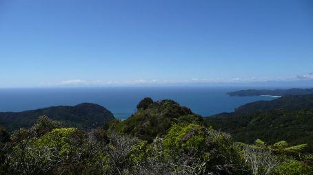 Entering Golden Bay