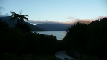 Sunset from Mohana lodge