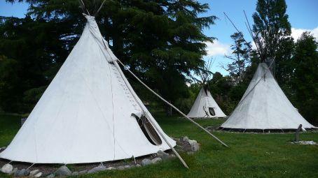 The Tipi camp