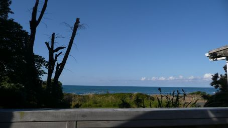 The view from The Beach House deck, just outside our room