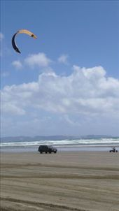 Some of the cars had to look twice at what was coming up the beach: by em-and-andy, Views[207]