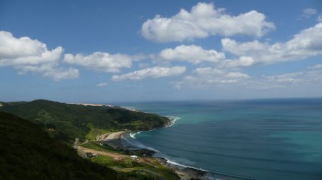 View of Shipwreck bay from same lookout