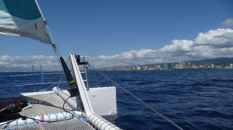 Honolulu from the Sea