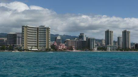 Waikiki from the boat