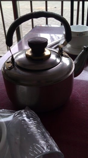 13 October, Lunch - The teapot