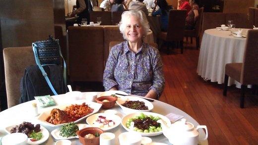 27 September, Lunch - Ebeth at lunch