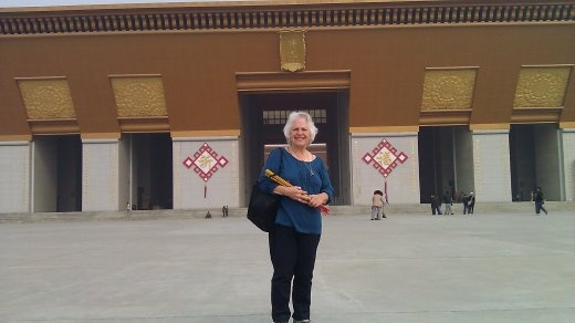 Ebeth at Famen Temple