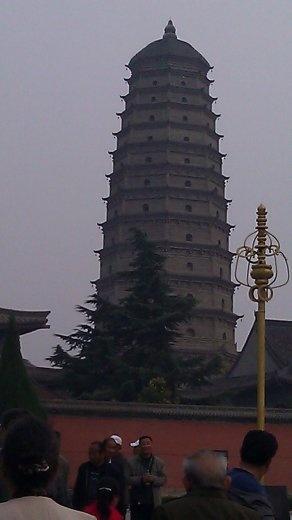 Old Famen Temple Pagoda