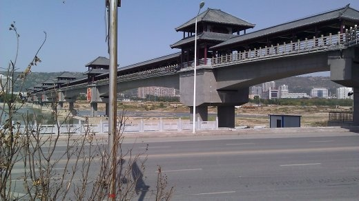 Bridge of History, newly built in old style