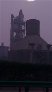 Heavy Industry near Baoji - note the air quality: by emacinat, Views[303]