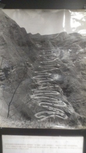 The Burma Road - 24 switchbacks in one section