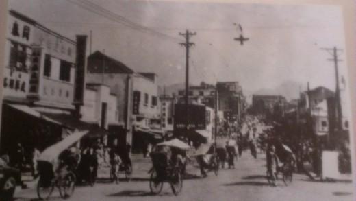 Photo of Chongqing, China, around 1930