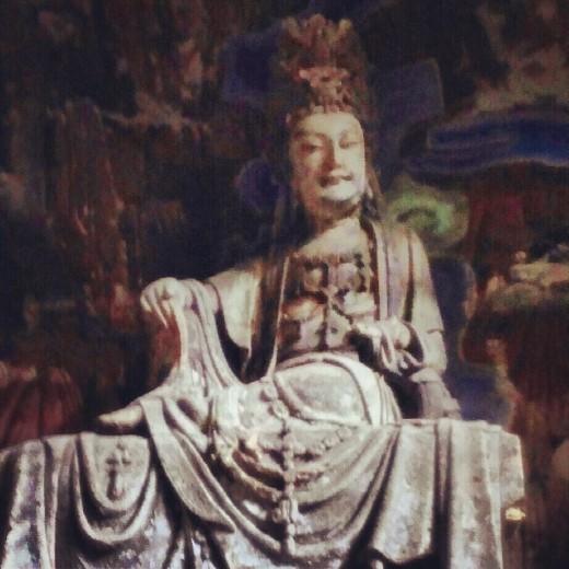 Buddha at Dazu Grottoes