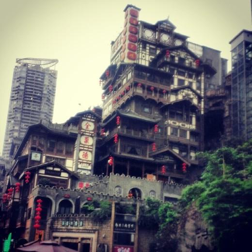 Red Cliffs Village, Chongqing, China