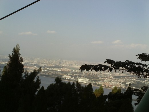 View of Kunming from Western Hills
