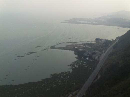 View of Erhai Lake from Western Hills