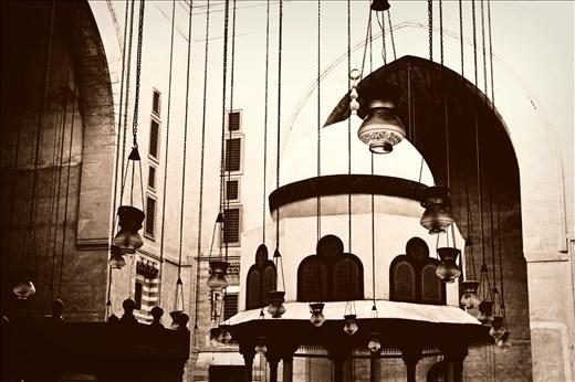 Lanterns.. -Sultan Hassan Mosque, Cairo, Egypt