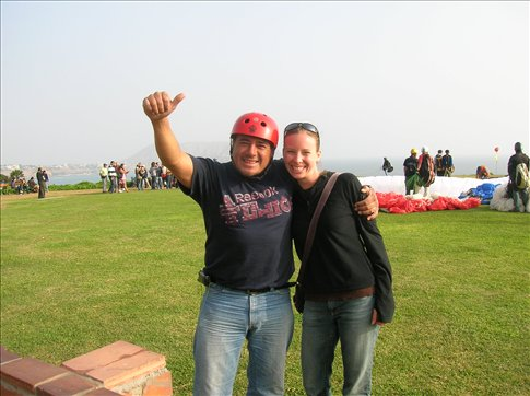 Marco, my paragliding guy