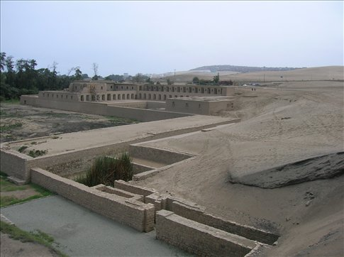 Temple of the Moon at Pachacamac