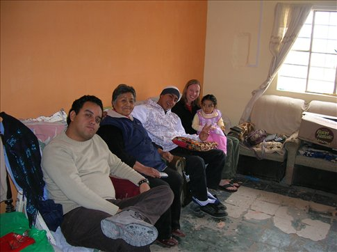 The whole family adopted me for a few days...fantastic people!