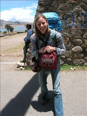 Me in Peru and Bolivia simultaneously!: by embtravelgirl, Views[166]