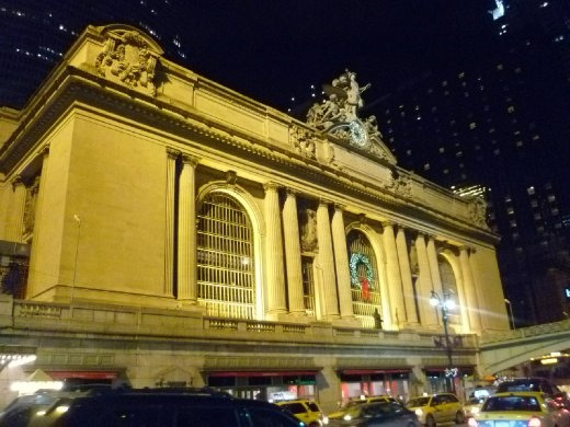 Grand Central Station from the outside